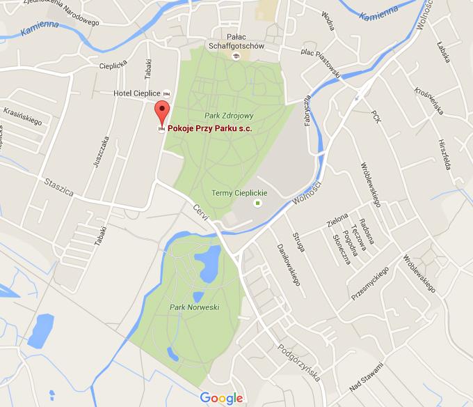 Lokalizacja-pokoje-przy-parku